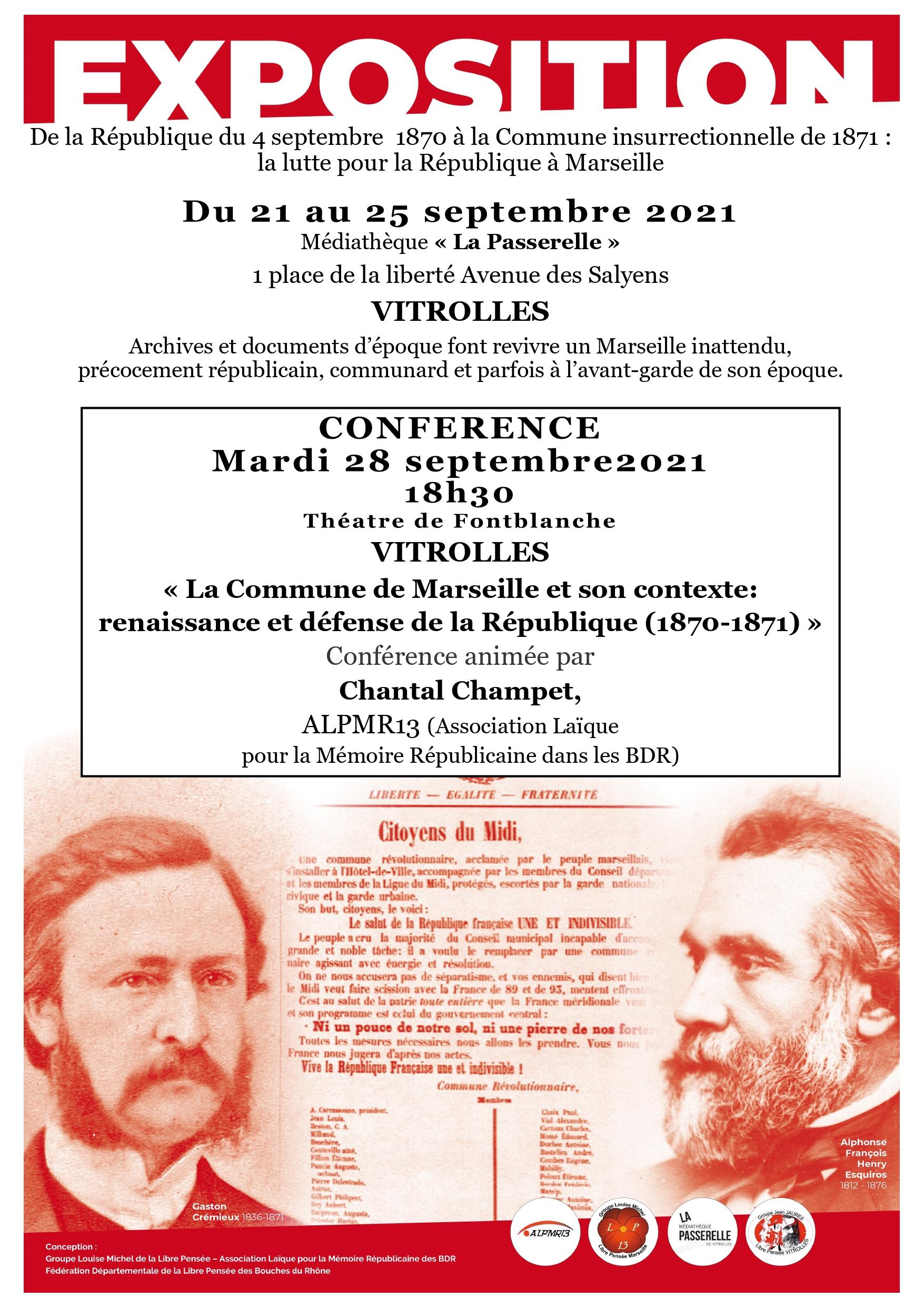 La Commune de Marseille et son contexte : renaissance et défense de la République (1870-1871) |